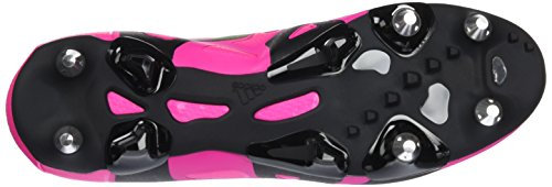 adidas X 15.1 Sg, Chaussures de Football Compétition Homme, Noir/Rose, 42,5 EU Rose (Shock Pink/Solar Green/Core Black)