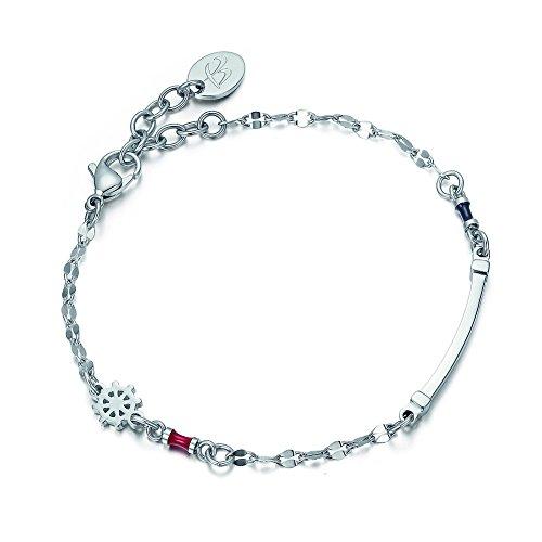luca-barra-armband-in-stahl-mit-steuerrad-und-emaille-rot-und-blau-design-made-in-italy