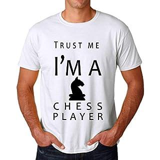 Trust Me I'm A Chess Player Men's T-Shirt Herren Large