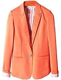 Amazon.co.uk: Orange - Suit Jackets & Blazers / Suits & Blazers ...