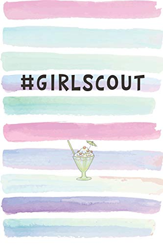 #GirlScout: Blank Lined Notebook Journal Gift for Friend, Coworker -