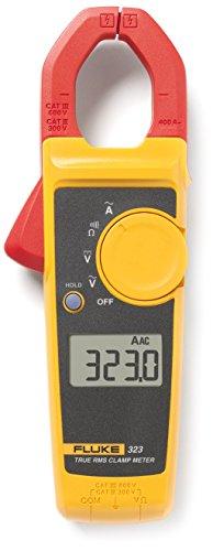 Fluke 323 CAT III 600 V, CAT IV 300 V Pince ampèremétrique, Multimètre numérique Affichage (nombre de points):4000