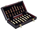 Engelhart - Magnifique Coffret de Jeux d'échecs de en Bois 30 cm - 150203