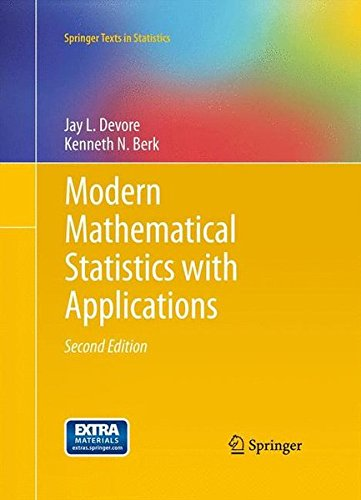Modern Mathematical Statistics with Applications (Springer Texts in Statistics)