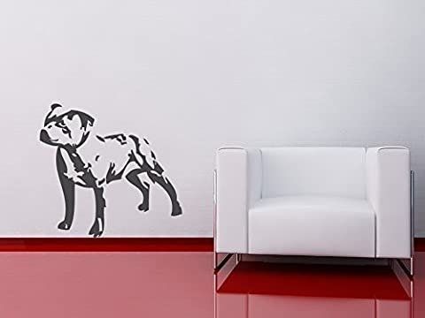 Staffordshire Bull Terrier Staffie Staff Staffy Dog Wall Sticker