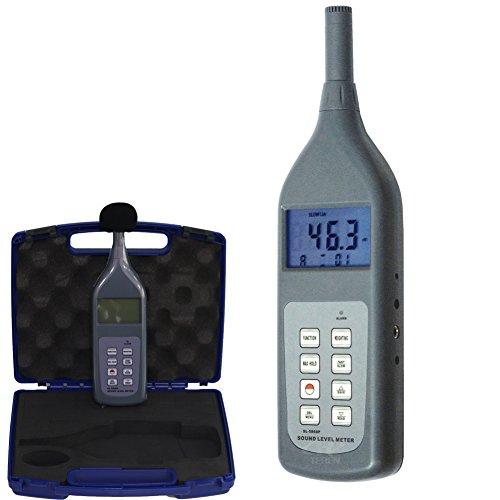 Lärm Schallpegelmessgerät Dezibel Voice Dosimeter Größe 30~ 130dB mit Speicher -