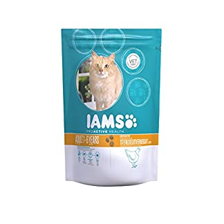IAMS for Vitality Light in Fat Dry Cat Food with Fresh Chicken for Adult and Senior Cats, 10 kg 11