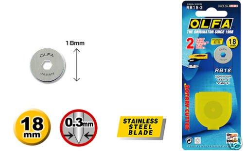 Olfa 18mm Rotary Cutter Klingen
