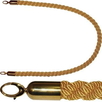 Bolero y806Twist Barriere Seil, Gold
