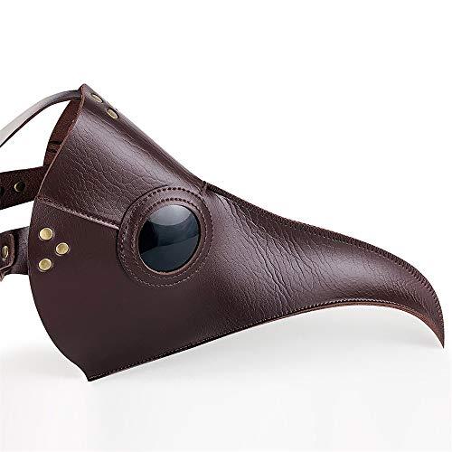 KTYX Steampunk Pest Long Bird Mund Maske Halloween Requisiten Geschenk Maske