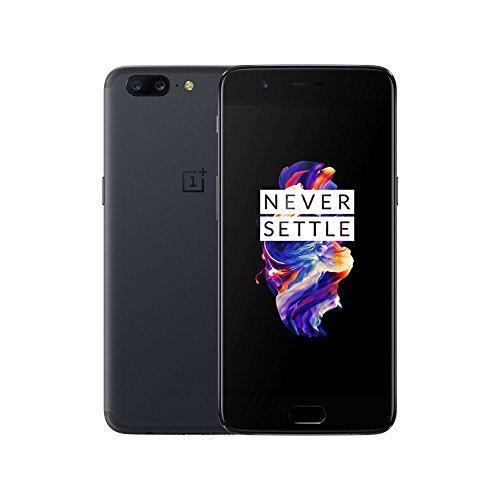 Oneplus 5 6GB RAM+ 64GB ROM Dual SIM 4G FDD-LTE 5.5 inch Smartphone Snapdragon 835 Gris