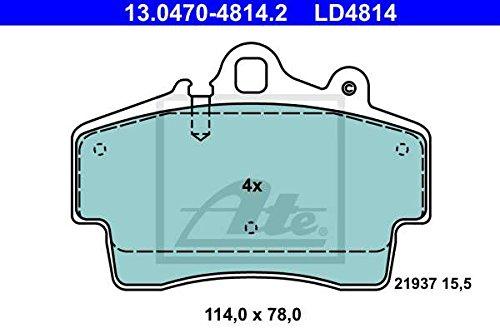 ATE 13047048142 Bremsbelagsatz, Scheibenbremse (Porsche Boxster Teile)