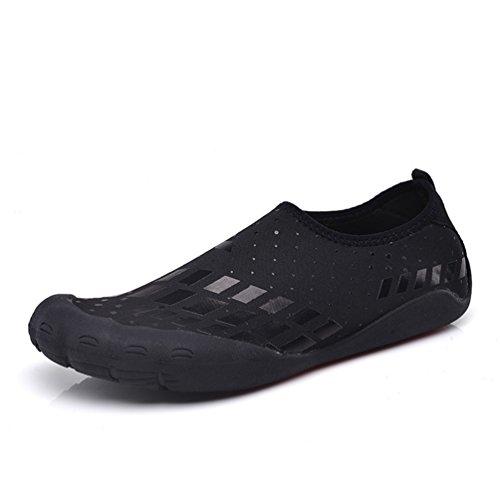 XIGUAFR Homme Chaussure de Natation Plage Piscine Chausson Barefoot Aquatique Chaussette Yoga Running Jogging Souple Confort