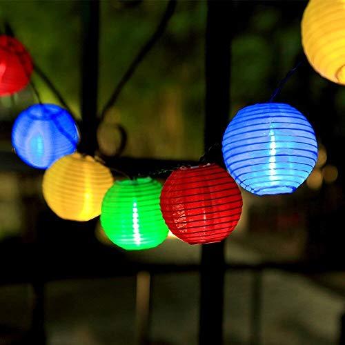 InnooLight Guirlande lumineuse solaire 30 LED 6 m avec câble d'alimentation de 2 m pour éclairage intérieur et extérieur