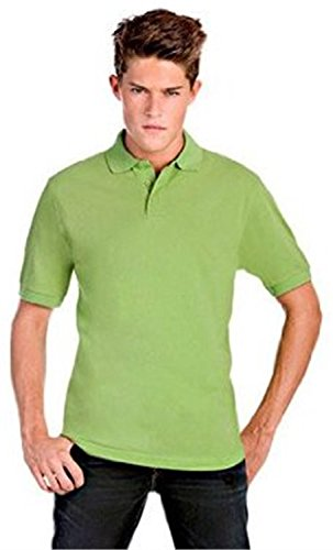 "Polo Shirt ""Safran"" für Herren Real Green"