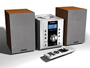 Pure DMX-25 - DAB/FM/CD/SD/USB Micro System With MP3 And WMA Playback