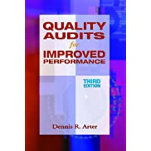 Quality Audits for Improved Performance, Third Edition (English Edition)