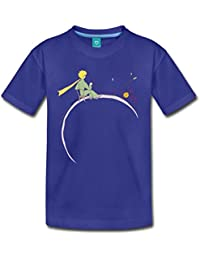 Spreadshirt Little Prince Looks At Sunset Kids' Premium T-Shirt