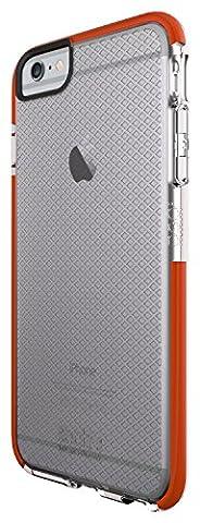 """Tech21 """"Classic Check"""" Coque de Protection pour iPhone 6 Plus - Transparent/Orange"""