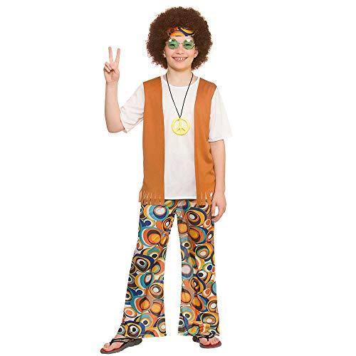Cool Hippie Kostüm für Jungen (5-7 Jahre)