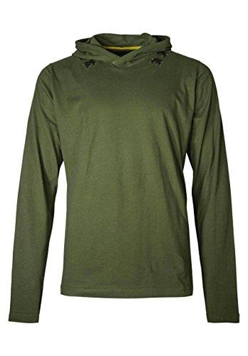 Shirt Of Legend Link Zelda Kostüm - Musterbrand Zelda Langarm T-Shirt Herren Link Shirt Unisex Hoodie Pullover Sweatshirt mit Kapuze Grün 3XL