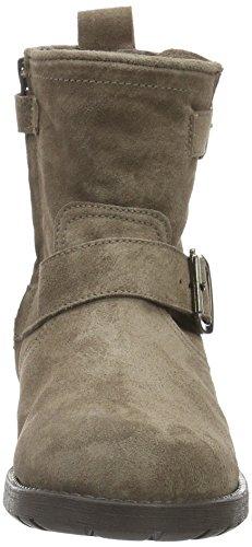 CliC Stiefel, Bottes courtes avec doublure chaude fille Marron - Braun (Basket Chaira)