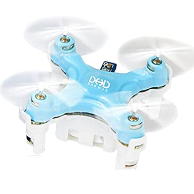 Megadream DHD D1 Smallest Headless Mode Flying Quadcopter Drone with Precision Sensitive Operation 360 Degree Eversion Function/ Auto-return Mode/ 6 Axis Gyro/ 2.4GHz Wireless Remote Control for Children Indoor Flying