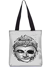 Snoogg Digitally Printed Poly Canvas Tote Bag Shoulder Bag