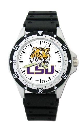 NCAA Stecker Fashion Uhren, Herren, Louisiana State Fightin Tigers, Einheitsgröße State Tigers