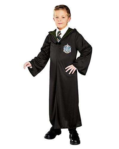 (Harry Potter Slytherin Robe für Kinder L)