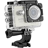WIFI Y8 Action Sport Cam Waterproof/Impermeabile Full HD H264 1080p 12Mp Video Helmetcam Videocamera Subacquea (Argento)