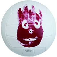 Wilson Cast Away Mr Pelota, Unisex, Blanco/Rojo, 7