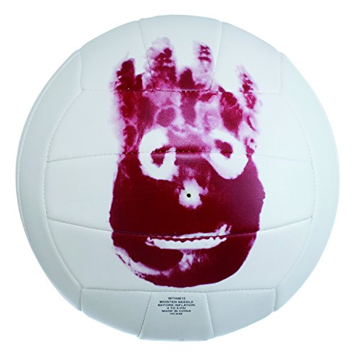 Wilson - Pallone da volley Mr.Wilson (Cast Away), colore: bianco
