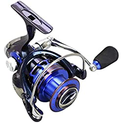 Mele & Co Discolor Metal Spinning Reel 13 + 1BB Carpa Pesca Rueda 19KG MAX Drag Agua Dulce/mar Spinning Carrete de Pesca,AS7000