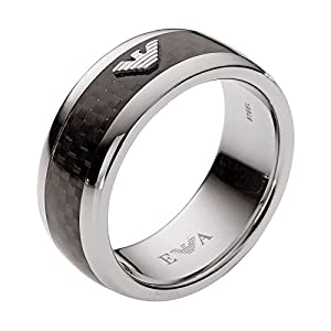 Emporio Armani Herren-Ring Edelstahl EGS1602040