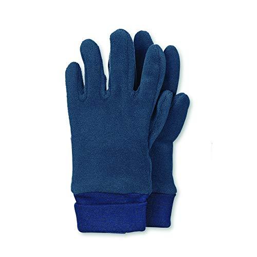 Sterntaler Jungen Fingerhandschuh Handschuhe, Blau, 2