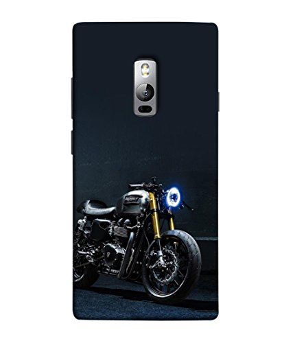 PrintVisa Grey Motorbike 3D Hard Polycarbonate Designer Back Case Cover for OnePlus 2 :: OnePlus Two :: One Plus 2