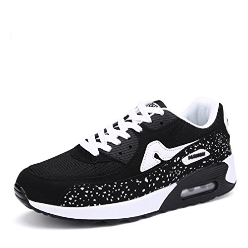 Men's Lace Up 4 Colors Running Shoes mesh style
