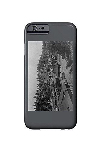 Mens North End (Colfax, California - Aerial View of the North End (iPhone 6 Cell Phone Case, Slim Barely There))