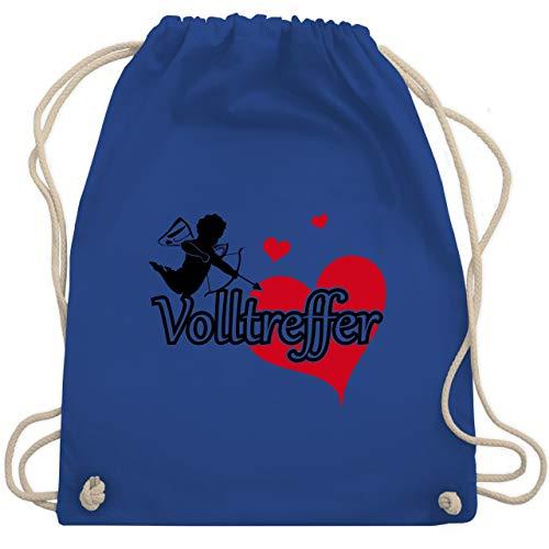 JGA Junggesellinnenabschied - Volltreffer - Unisize - Royalblau - WM110 - Turnbeutel & Gym (Cupid Frauen Kostüme)