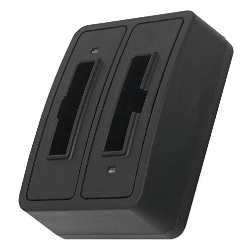 Caricabatteria doppio (senza cavo/adattatori) BA-300 per Sennheiser RI 410 (IS 410), RI 830 (Set 830 TV), RI 830-S, RI 840 (Set 840 TV), RI 900, RR 4200... - v. lista