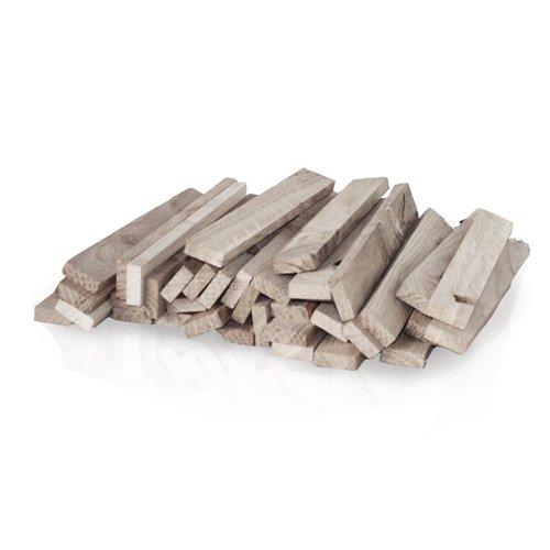 PALIGO Eichenspatel Anzündholz Anfeuerholz Anmachholz Brennholz Smokerholz Grillholz BBQ Kamin Ofen Eiche 16cm 30kg / 1 Karton HEIZFUXX®