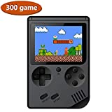 LEACK Portable game console game controller 8-bit portable 168 games Classic game console children gift Game Player