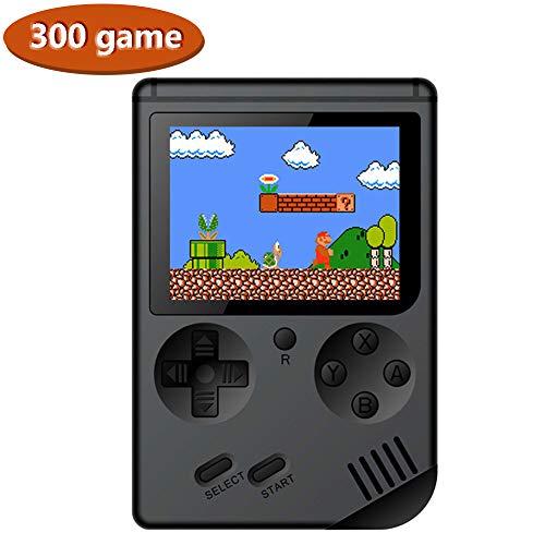 lymty 300 Spiele Retro Handspielkonsole, FC System Plus Extra Joystick Tragbarer Mini Controller Unterstützung TV 2 Player 300 Klassische Spielkonsole, Geschenke für Kinder