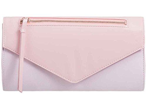 Hautefordiva , Damen Clutch weiß M Rose Quartz