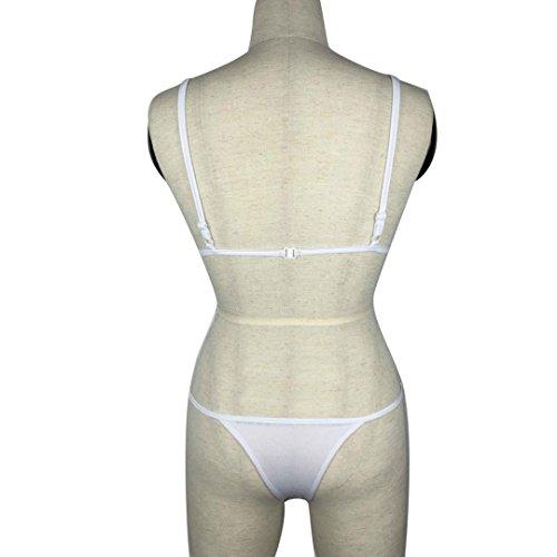 Costumi Donna, Dorame Women 2pz swimsiut Con Bikini sexy costume da bagno Bianca