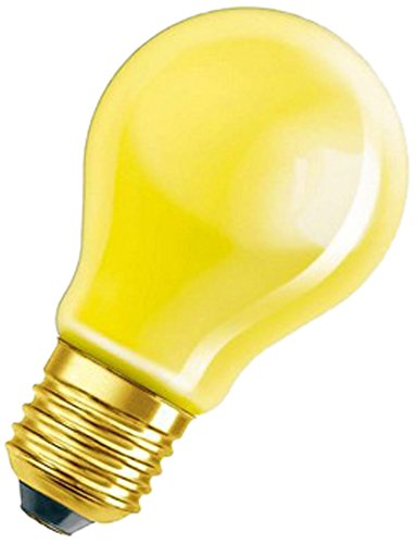 Osram Glühlampe, Spezial Glühbirne in gelb, E27-Sockel, 11 Watt (Spezial-sockel)
