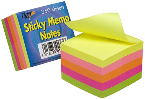 tiger-2-inch-5-cm-square-sticky-memo-note-neon-pack-of-350-sheets