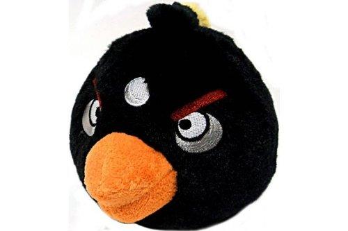 Peluche Angry Birds Noire 20 cm