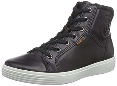 Ecco ECCO S7 TEEN, Unisex Kids' Hi-Top Sneakers, Black (BLACK2001), 3.5 Child UK (36 EU)
